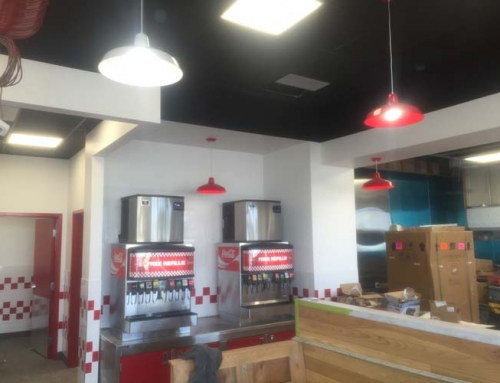 Five Guys Manning Town Centre | Commercial Interior